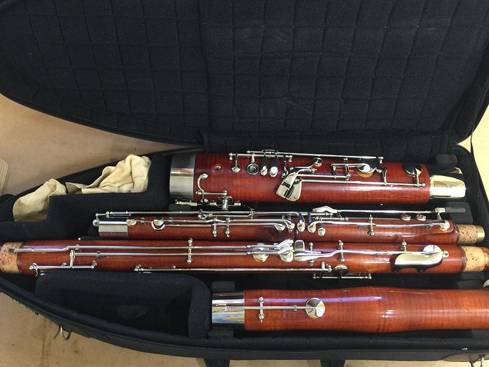 Heckel Bassoon Num : 11 64X - SOLD - Irene Ortiz